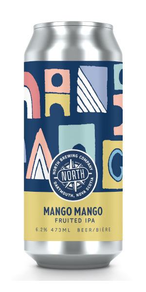 A product image for North Mango Mango IPA