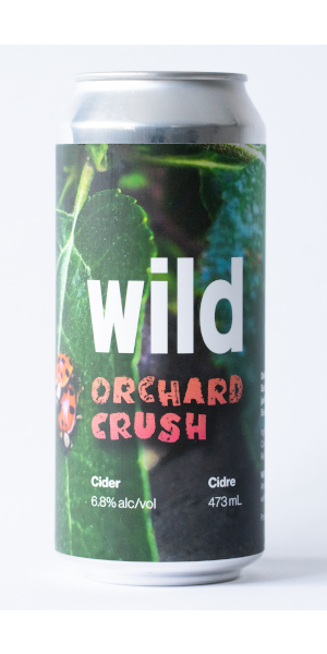 A product image for Wild Orchard Crush Cider