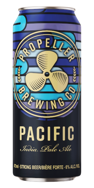 A product image for Propeller Pacific IPA