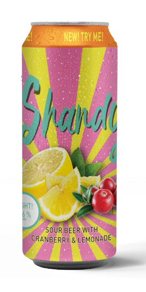 A product image for Boxing Rock Cranberry/Lemon Shandy