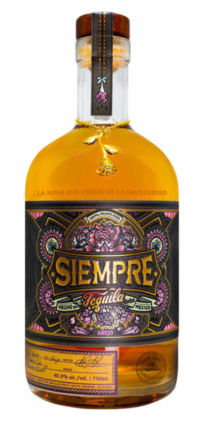 A product image for Siempre Tequila Anejo