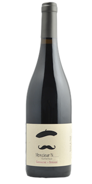 A product image for Monsieur N Grenache Syrah