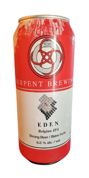 A product image for Serpent Eden – Belgian IPA