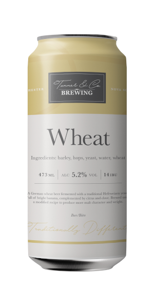 A product image for Tanner Wheat Beer