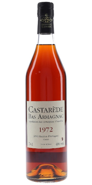 A product image for Armagnac Castarede 1972
