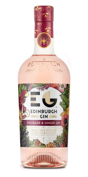 A product image for Edinburgh Rhubarb & Ginger Gin