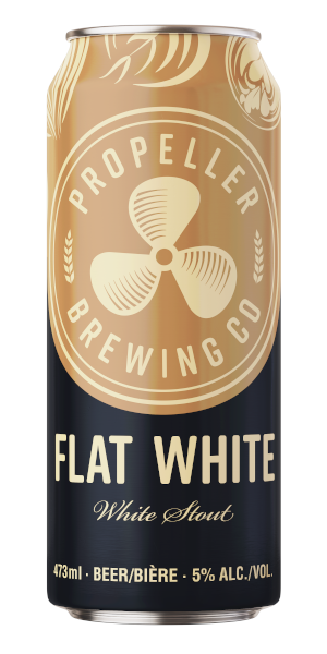 A product image for Propeller Flat White Stout