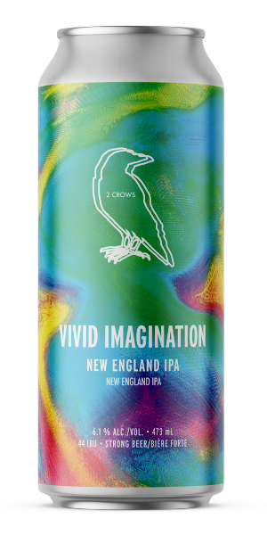A product image for 2 Crows Vivid Imagination IPA