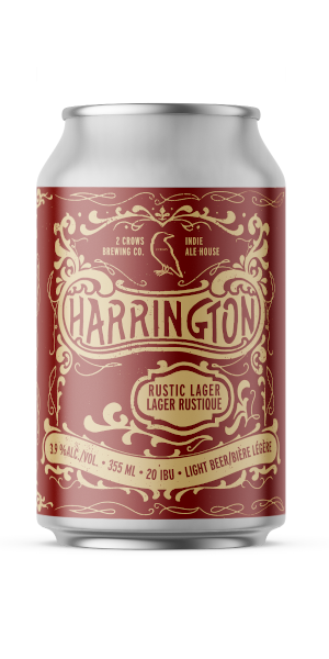 A product image for 2 Crows x Indie Ale House – Harrington Rustic Lager